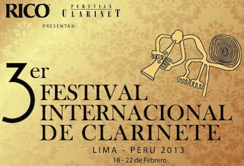 3rd International Clarinet Festival of Peru