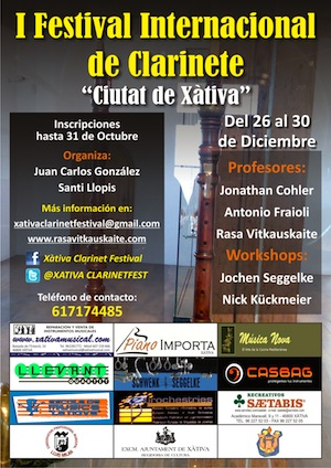 Xativa International Clarinet Festival